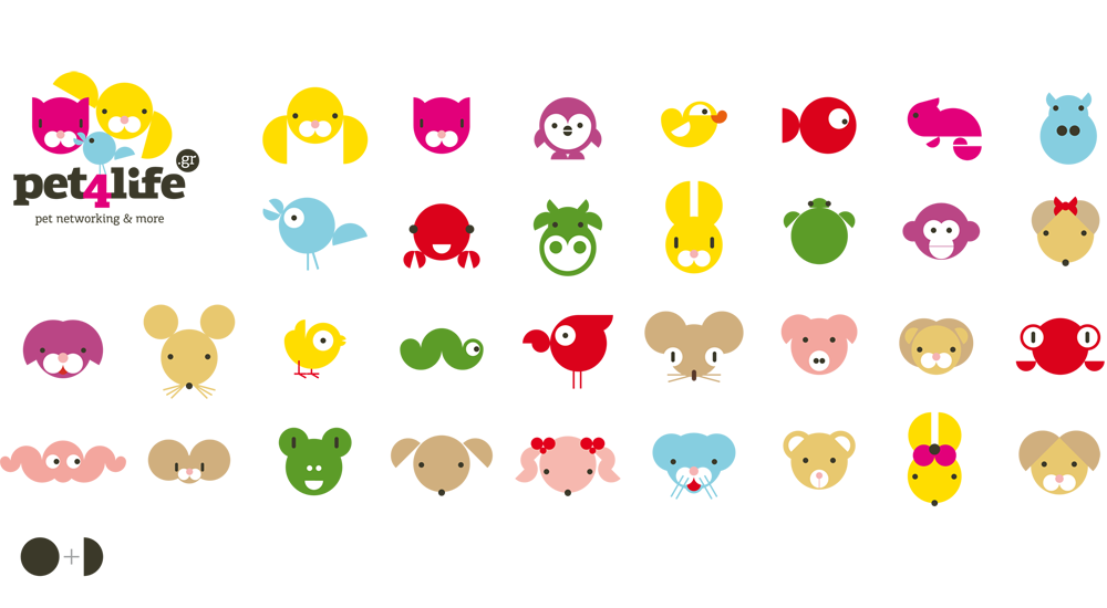 Animals - Graphic elements used in the website
